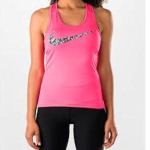 EUC Nike Pro Cool Pink Tank Top Size Medium 💕💕